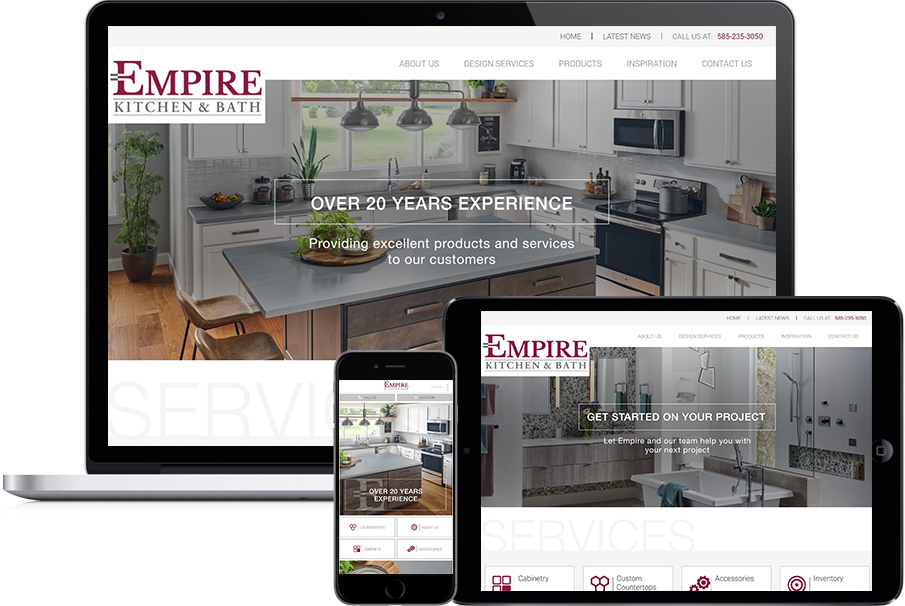 Empire Kitchen & Bath | Portfolio | Scriptable Solutions