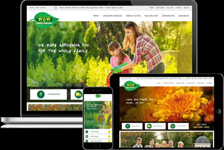 W w nursery portfolio scriptable solutions for Garden solutions catalog